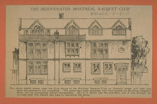 The Montreal Racket Club