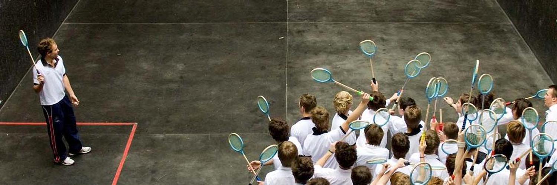 Tonbridge School Rackets Court
