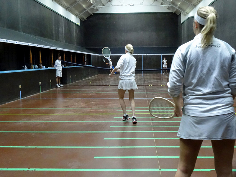 Ladies Doubles at Seacourt