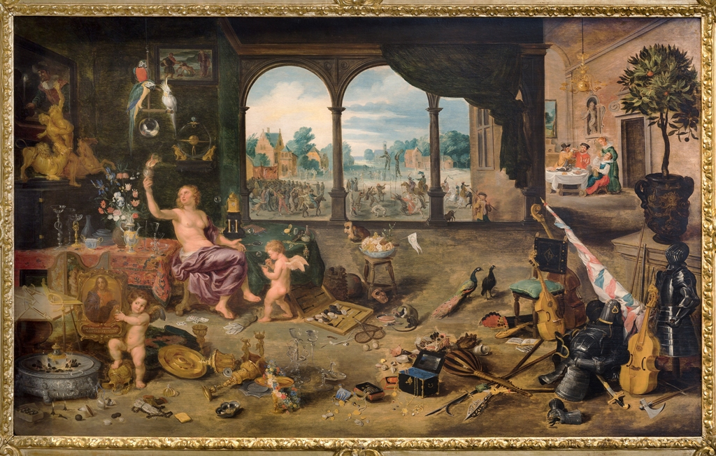 Jan Brueghel The Younger The Vanity of Human Life 1631