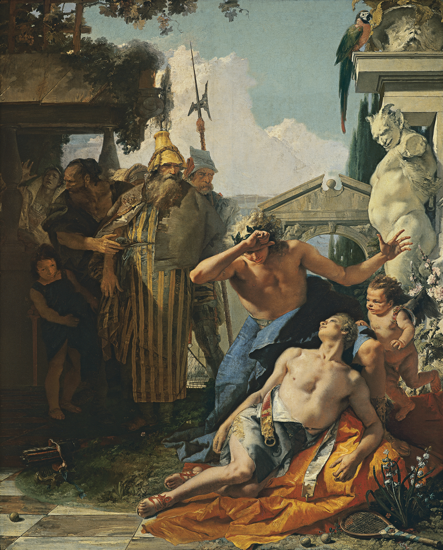 Giambattista Tiepolo The Death of Hyacinthus 1753