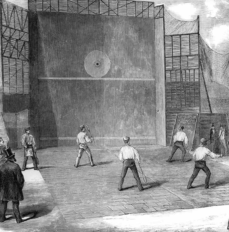 Nineteenth Century open court