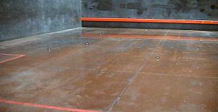 Indoor courts predominate