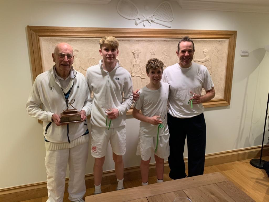 Two generations of trophy finalists at Petworth
