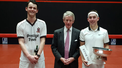 Amateur Rackets Singles Championship 2018