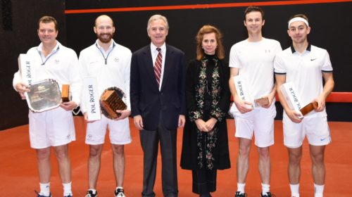 British Amateur Doubles Rackets Championship 2020