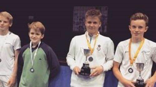 Under 15 Junior Open Doubles Championships 2019