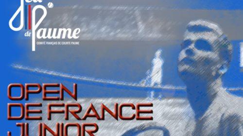 Junior Open De France 24-26 April 2020 COVID-19