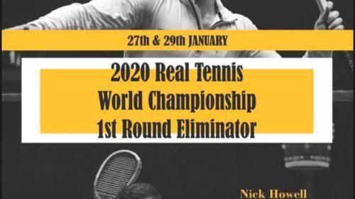 1st Round Eliminator - World Championship Challenge 2020 - Riviere v Howell