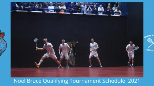 Noel Bruce Qualifying Tournament 2021