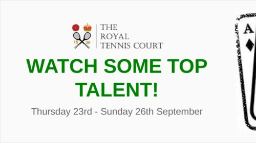 The Royal Tennis Court Development Tournament