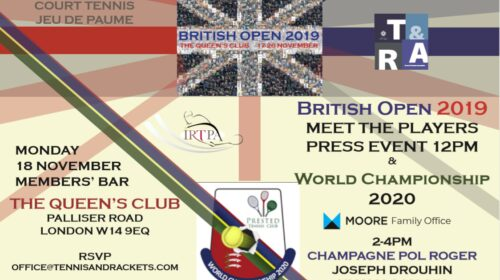 British Open 2019 - PRESS DAY