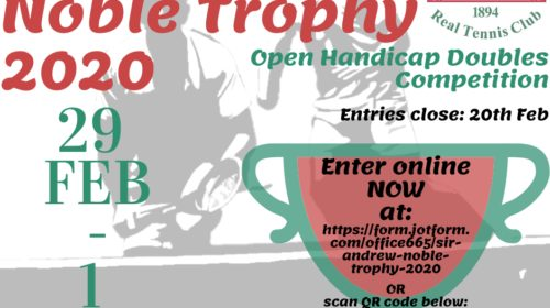 Sir Andrew Noble Trophy 2020