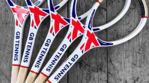 Great Britain Tennis racquets by Grays