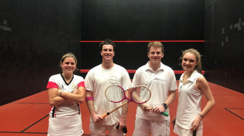 Open Mixed Doubles Rackets 2020 COVID-19