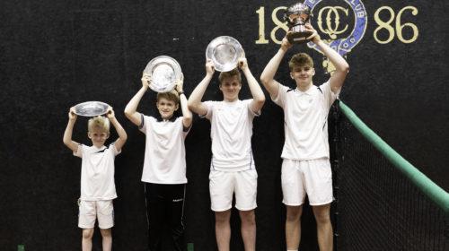The British Junior Real Tennis Singles Championships 2020