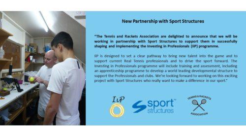 Sport Structures Announcement